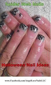 Angel Love Nail Designs Halloween Nail Art Ideas Angel Love Nail Art Nail Art