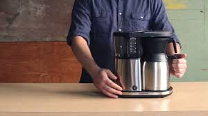 how to use the pre infusion mode on your bonavita brewer