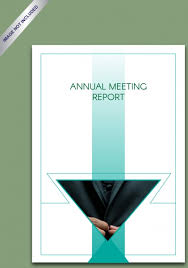 Annual Meeting Report Simple Annual Report Annual Report 2018 Free
