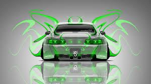 toyota mr2 back plastic car