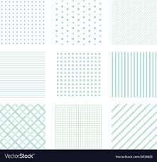 Simple Patterns Extraordinary Seamless Simple Patterns Royalty Free Vector Image