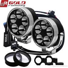 Motorbike Fog Lights 2019 Goldrunway Fully Dimmable 50w 3 5 Motorcycle Motorbike Headlight 6000lm U3 Led Driving Fog Spot Head Light Lamp From Radiant2014 241 21