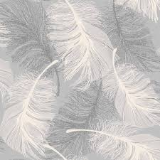 cwv feather glitter grey m0923 wallpapercentral co uk