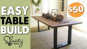 Shanty 2 Chic Coffee Table Diy Rustic Modern Dining Table Shanty 2 Chic