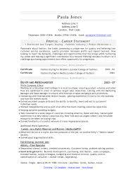 Resume For Fashion Job Resume For Study