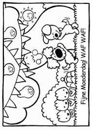 Woezel En Pip Spelen Circus Woepi Kleurplaten Van Zappelin