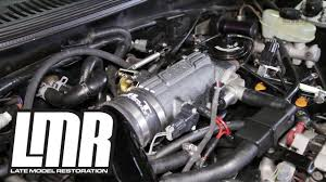 Mustang GT BBK Throttle Body & Plenum Install (1996-2004 4.6L 2v ...