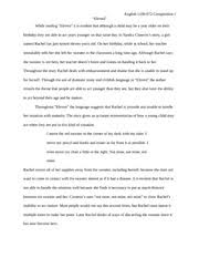 literary essay for eleven novel example english  literary essay for eleven novel example english 1100 072 composition i eleven while reading eleven it is evident that although a child be a year