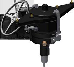 ignition system two tooth steering loosen both steering column clamps one is inside the cab and the other is under the hood rotate the steering column until the arm