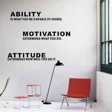 inspirational office decor.  Decor Inspirational Quotes Capacit Motivation Attitude DIY Wall Sticker Art  Vinyl Home Office Dcor Throughout Decor I