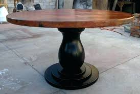 architecture round copper dining table beautiful looking ideas with regard to hammered plans orange