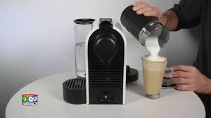 Nespresso U Machine Nespresso U Milk Prise En Main Youtube