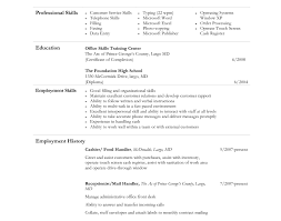 resume cashier example unforgettable part time cashiers resume