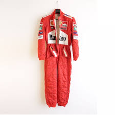 Michael Schumacher S 2001 Worn Ferrari Race Suit Charitystars