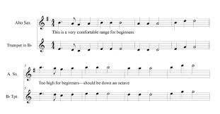 Tenor Sax Transposition Chart How To Transpose Trumpet Music For The Saxophone Quora