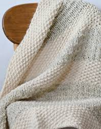 Knit Blanket Pattern