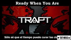 Trapt Product Of My Own Design