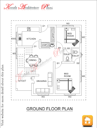 1600 square feet four bed room house plan