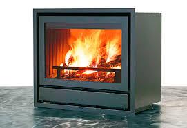 wood burning fireplace insert luce