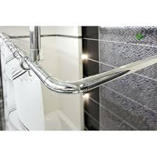 ceiling mount shower curtain quality chrome universal 4 way use shower rail ceiling mounted shower curtain