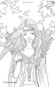 Elf Coloring Pages Elf Coloring Pages Great Girl Elves Lego Elves