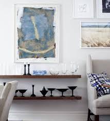 view in gallery vignette display floating shelves shelving