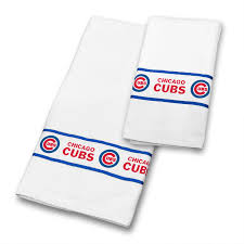 Sports Bathroom Accessories Mlb 3pc Mlb Chicago Cubs Shower Curtain And Bath Towels Set
