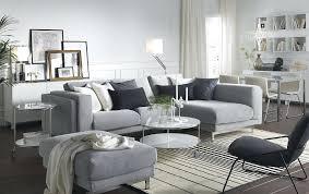ikea black white rug living room modern planner oval glass wooden table black standing white lounge