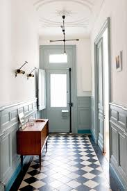 French Bathroom Tiles A Charming French Home With Fresh Colour Ideas From The February