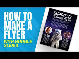 How To Make Fliers How To Create A Flyer From Scratch In Google Slides
