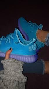 Light Blue Yeezy V2 Light Blue Dark Blue Yeezy Boost 350 V2 Kanye West Shoes