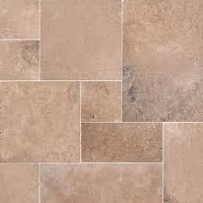odeon tumbled french pattern sku trav2253 travertine blend tiles