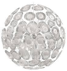 modern dandelion glass ball 10 light pendant ball chandelier transitional pendant lighting