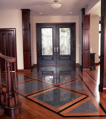 Innovation Wood And Tile Floor Designs Mixed Media Is A Installed To Simple Ideas