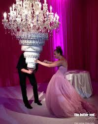 chandelier wedding cake 4