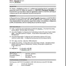 Classy Sap Fico Consultant Resume India On Sap Abap Sample Resumes