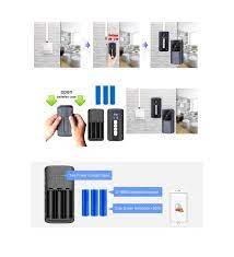 WIFI Kapı Zili akıllı Ev KablosuzTelefon Kapı Zili