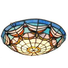 stained glass light fixture lighting home depot fittings