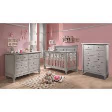 Gray baby furniture Furniture Sets Natart Belmont Piece Nursery Set In Stone Grey Crib Double Dresser And Bambi Baby Gray Nursery Furniture Grey Baby Furniture Bambibabycom