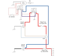 leisure battery wiring diagram wiring diagram cervan and motorhome electrical systems build a