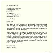 Example Of Job Letter From Employer   Compudocs us SemiOffice Com