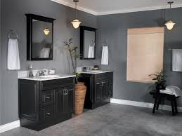 image of grey tile bathroom wall color