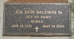 Joe Don Baldwin Sr. (1931-2010) - Find A Grave Memorial