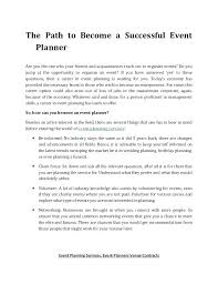Event Planner Sample Contract Event Contract Sample Gallery For