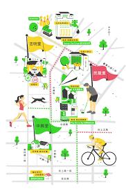 Map Design Green Ripples Festival 2016 Map Design On Behance