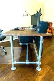 industrial inspired furniture. Diy Industrial Desk Furniture Wood Paneled Pipe Week . Inspired