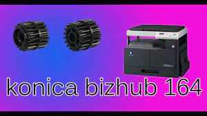 This printer delivers maximum copy/print speed a4 mono cpm up to 30 cpm, 1st copy/print time mono sec 10.5 seconds, for black, white and color, and copy resolution dpi max., 1,200 x 600 dpi. Driver For Printer Konica Minolta Bizhub 164 Download