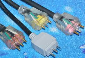spa and hot tub electrical cord plug identification plug lead type in link used on aeware in x series spa packs