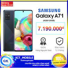 Điện thoại Samsung Galaxy A71 8GB/128GB - Hàng Chính Hãng fullbox giá cạnh  tranh