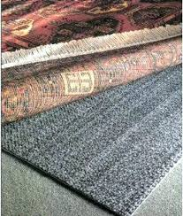 rug underlay for carpet pad over non slip works best of all free to anchor on density premium plush rug pad